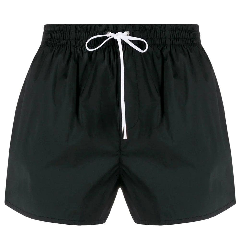 Dsquared2 Logo Swim Shorts Colour: BLACK, Size: SMALL