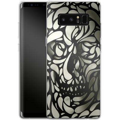 Samsung Galaxy Note 8 Silikon Handyhuelle - Skull von Ali Gulec