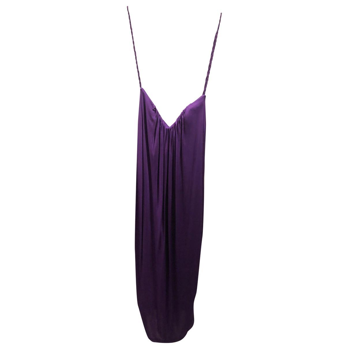Dsquared2 \N Kleid in  Lila Viskose
