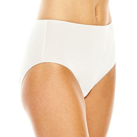 Jockey No Panty Line Promise Tactel Microfiber Brief Panty 1372, 5 , White