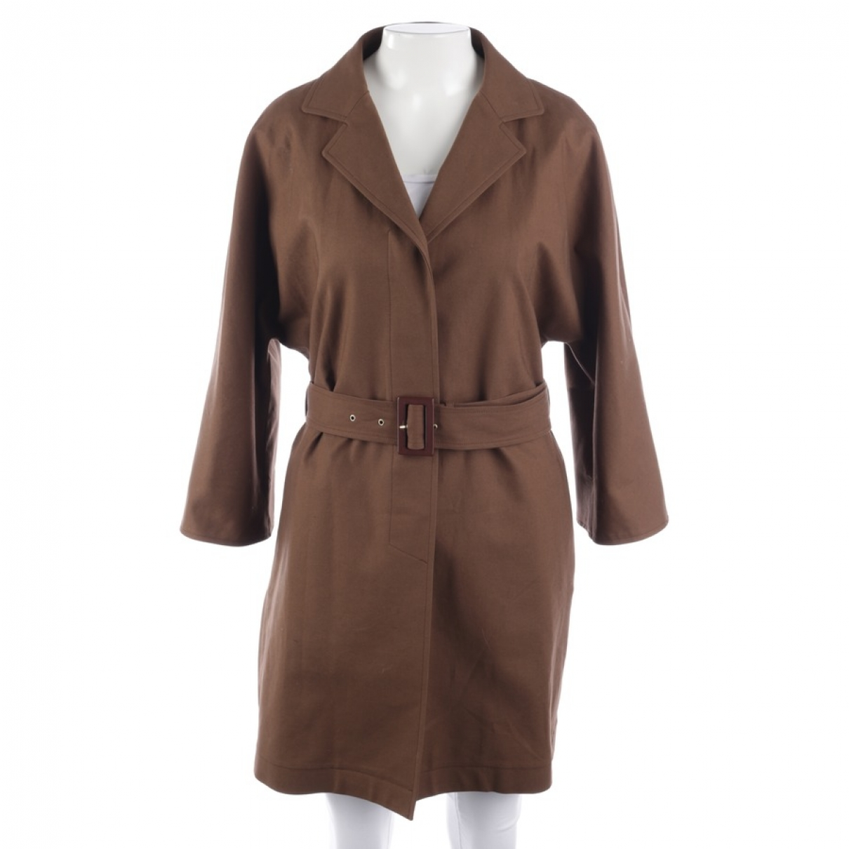 Herno \N Brown Cotton jacket for Women 36 FR