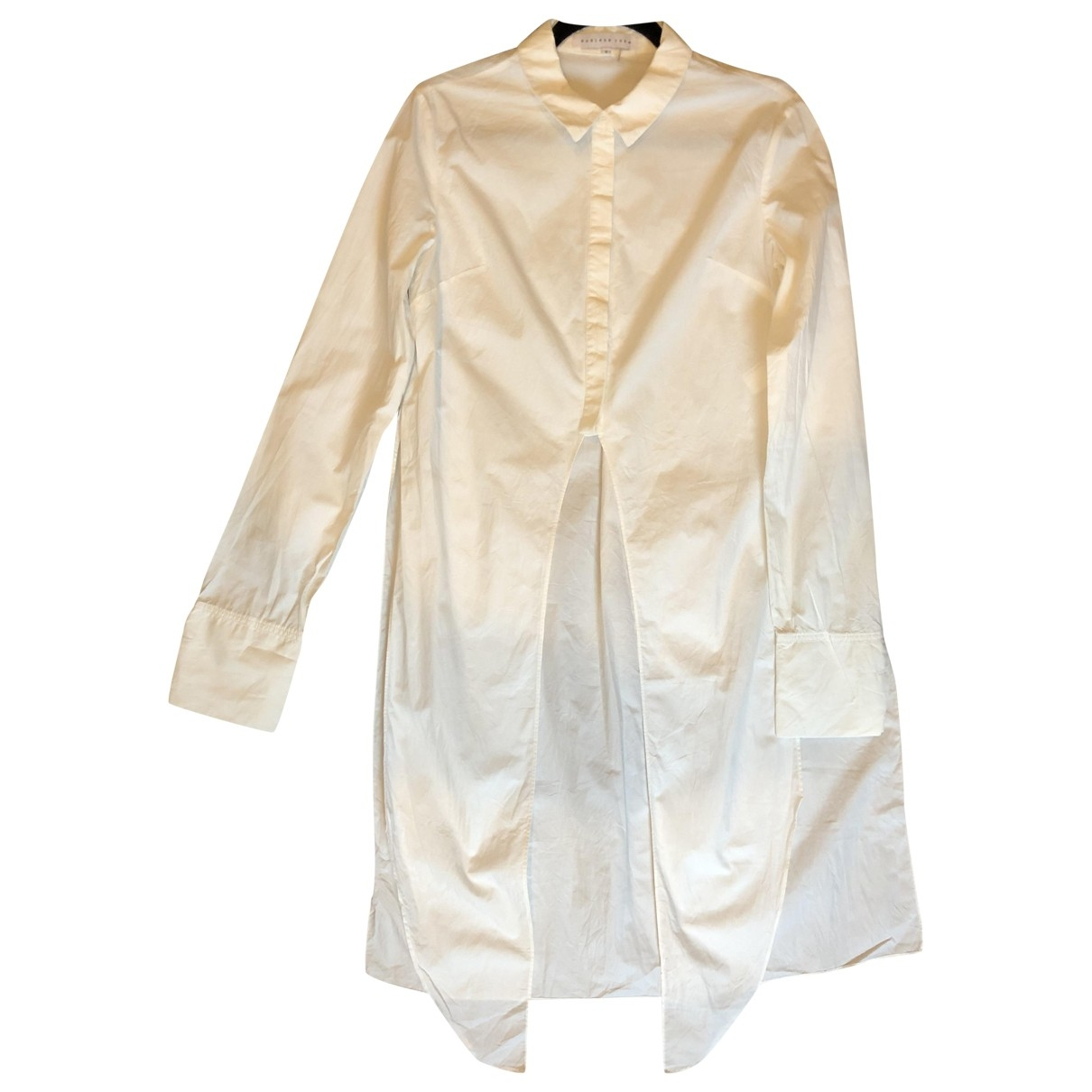 Non Signé / Unsigned \N White Cotton  top for Women S International