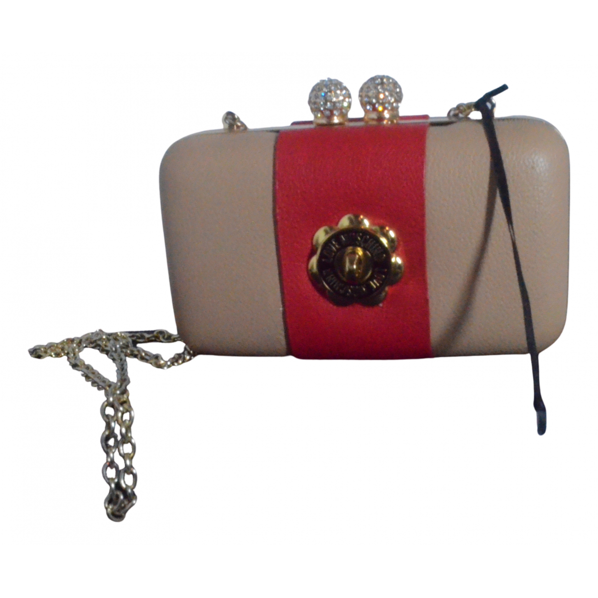 Moschino Love \N Clutch in Synthetik