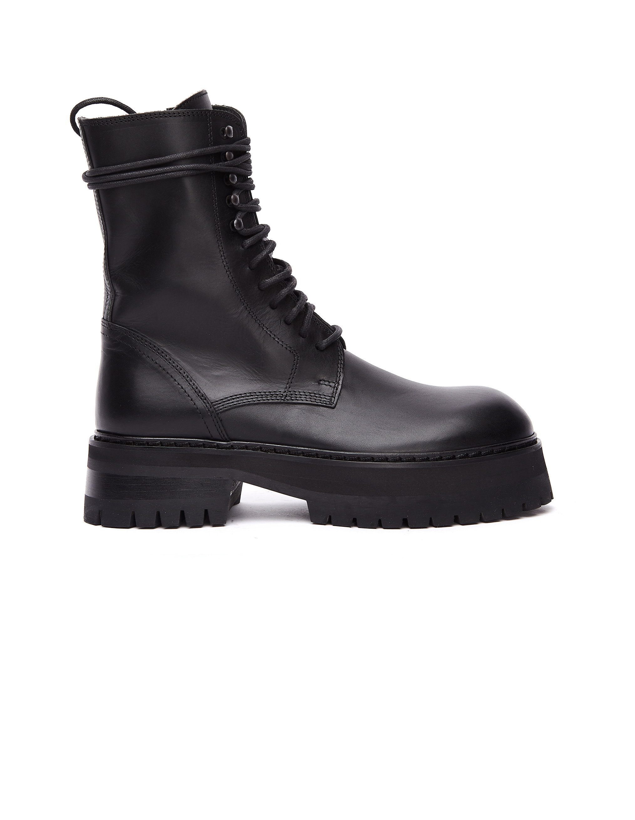 Ann Demeulemeester Leather Massive Boots