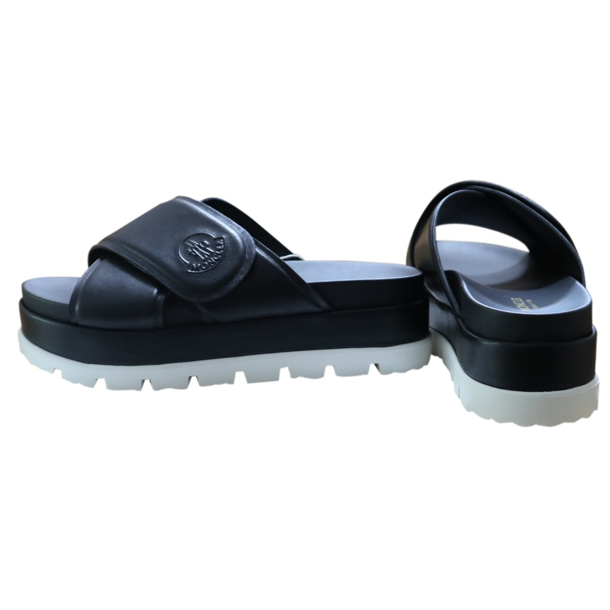 Sandalias de Cuero Moncler