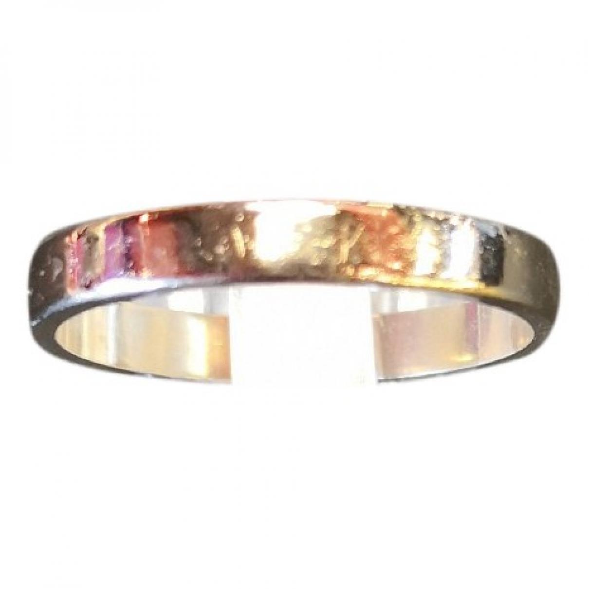 - Bijoux Alliance pour homme en or blanc - argente