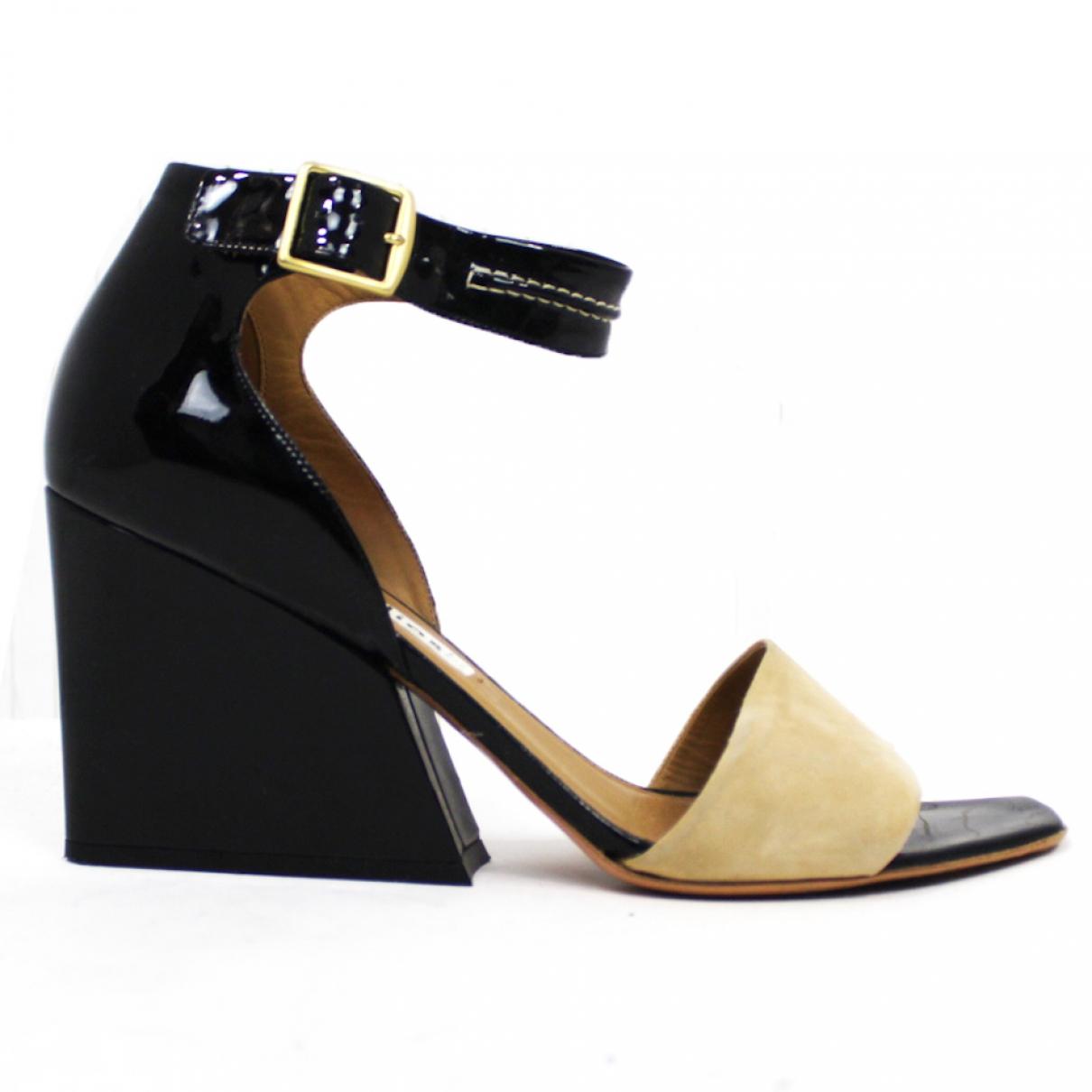 Acne Studios \N Multicolour Patent leather Sandals for Women 41 EU