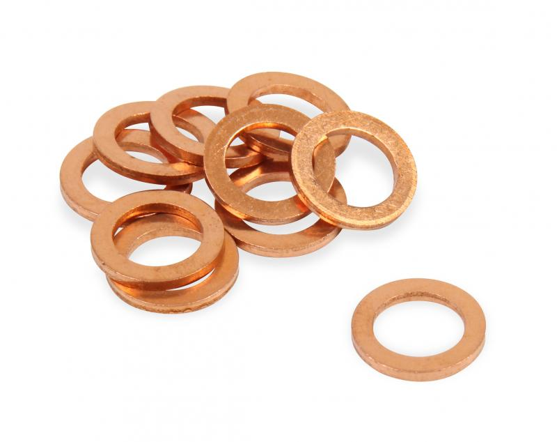 Earl's Performance 177101ERL 10MM COPPER CRUSH WASHERS PKG OF 10