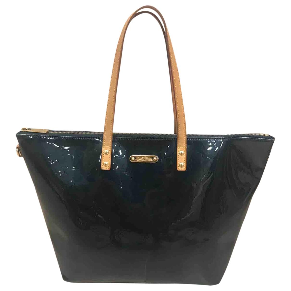 Louis Vuitton \N Green Leather handbag for Women \N