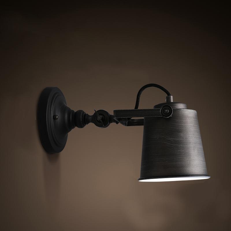 Black Light Cover Classic Style Hardware 1 Bulb Wall Light