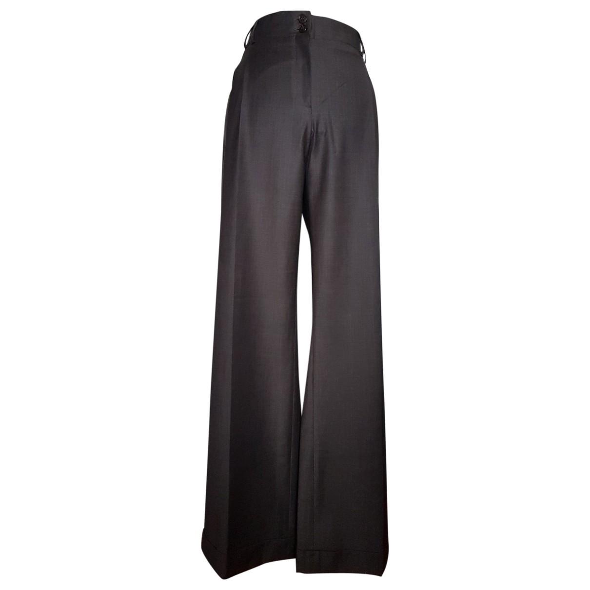 Pantalon largo de Lana Gerard Darel