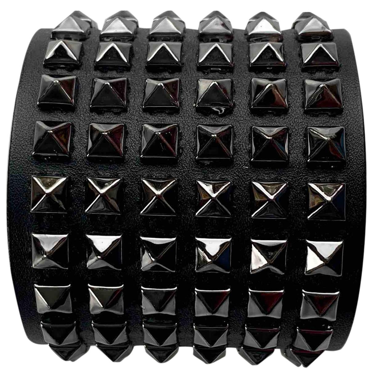 Barbara Bui - Bracelet   pour femme en cuir - noir
