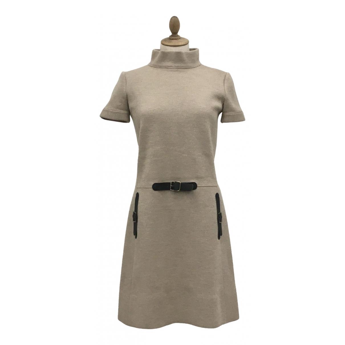 Blumarine - Robe   pour femme en laine - beige