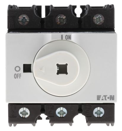Eaton 3 Pole DIN Rail Non Fused Isolator Switch - 63 A Maximum Current, 30 kW Power Rating, IP65