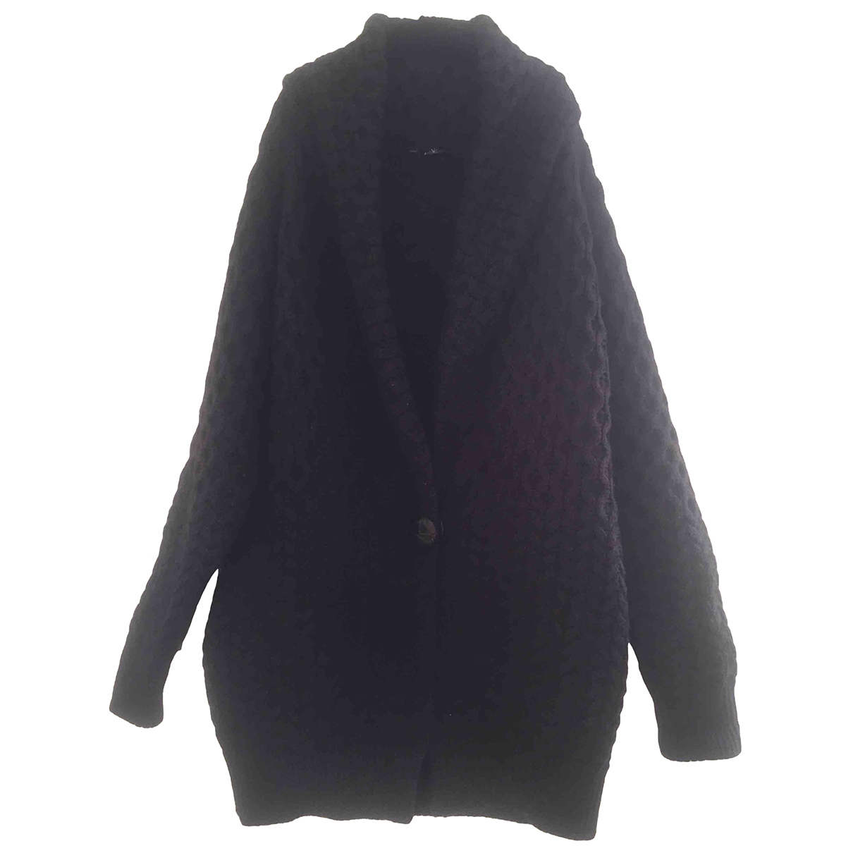 Isabel Marant \N Anthracite Wool coat for Women 38 FR