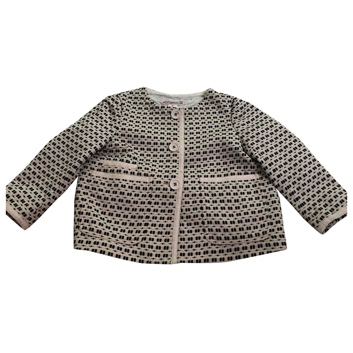 Bonpoint \N Beige Cotton jacket & coat for Kids 6 years - up to 114cm FR