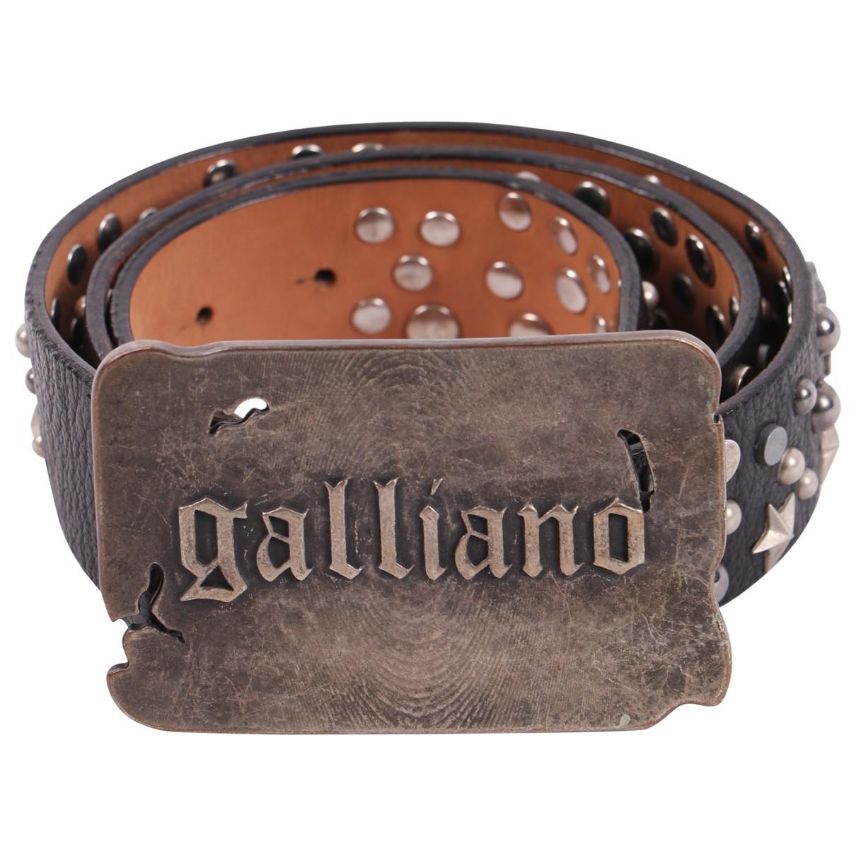Cinturon de Cuero Galliano