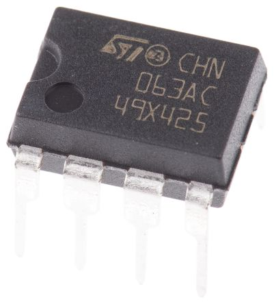 STMicroelectronics MC34063ACN, 1-Channel, Step Down DC-DC Converter, 1.5A 8-Pin, PDIP
