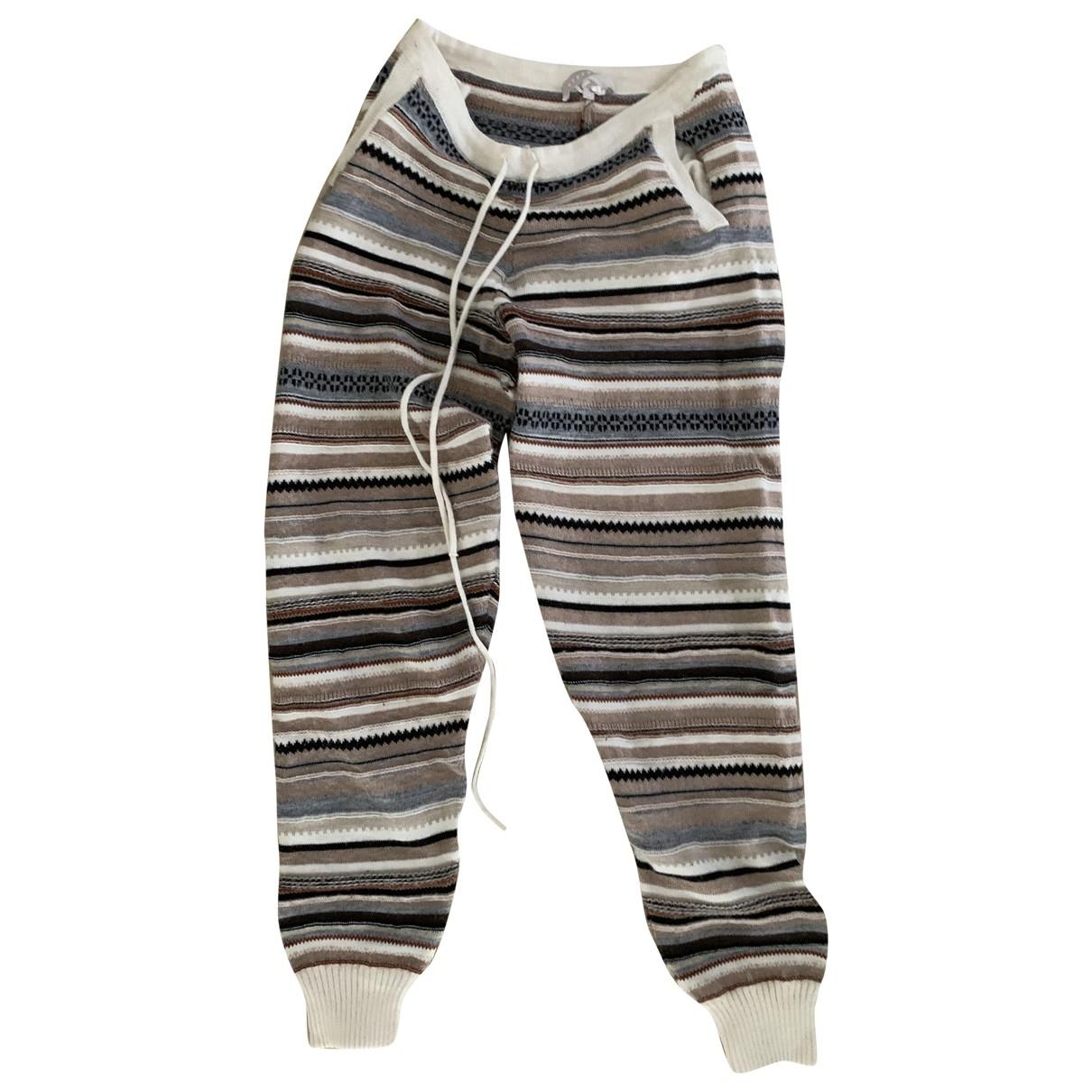 Pantalon largo de Lana Stefanel