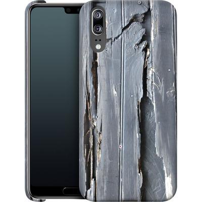 Huawei P20 Smartphone Huelle - Wood Black Fence von Brent Williams