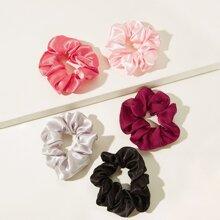 Simple Scrunchie 5pcs