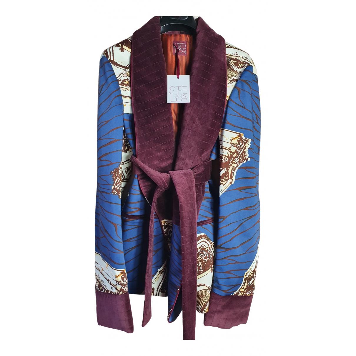 Stella Jean - Vestes.Blousons   pour homme en coton - multicolore