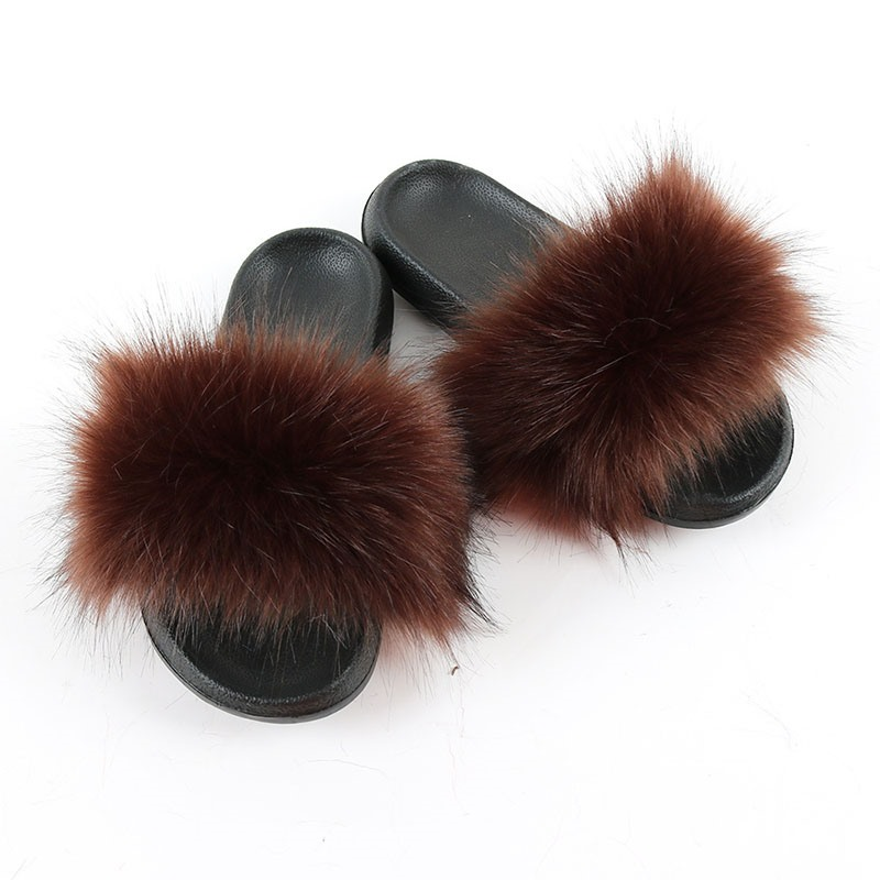 Ericdress Pompon Flat With Slip-On Plain Slippers