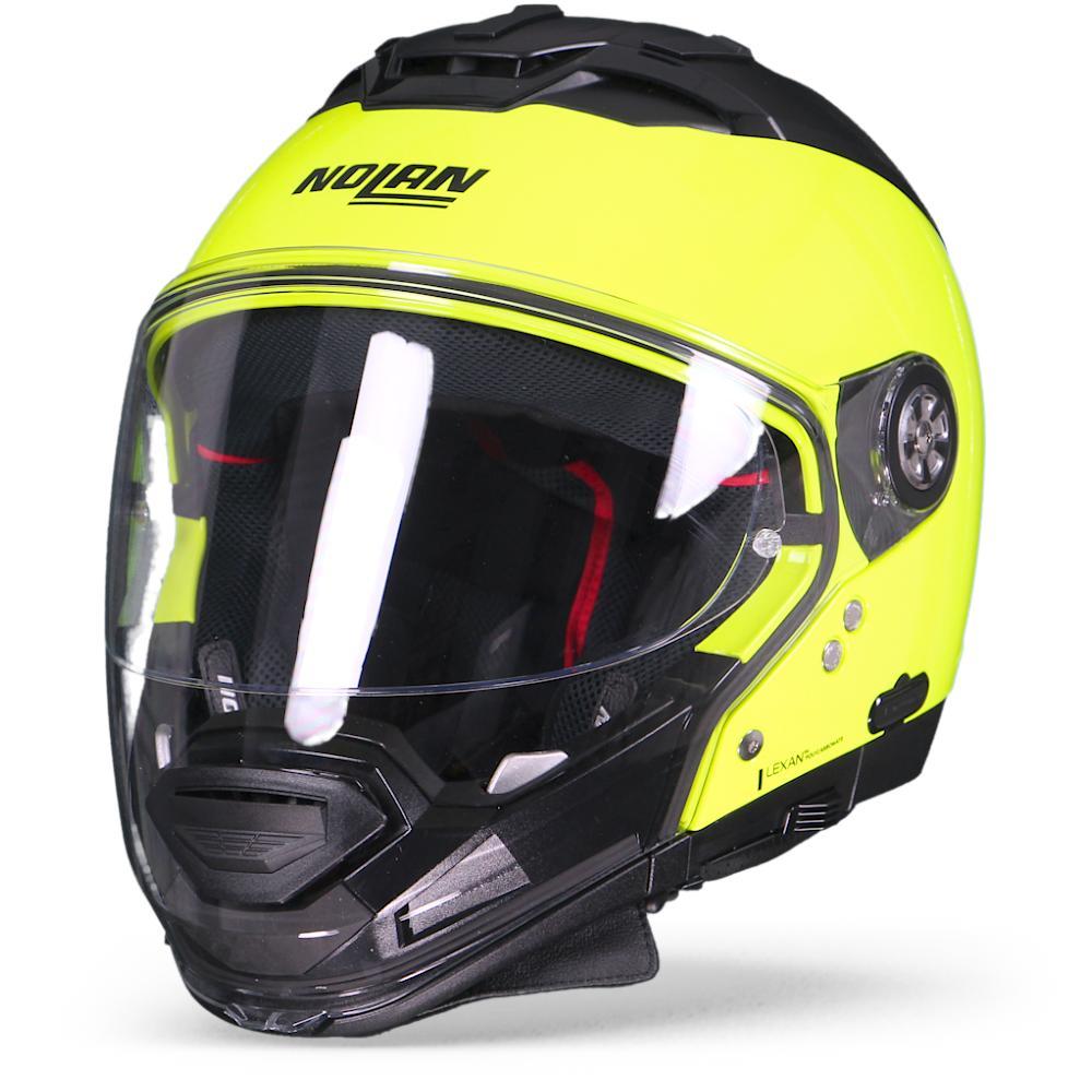 Nolan N70-2 GT Hi-Visibility 22 Casco Modular Amarillo Fluo M