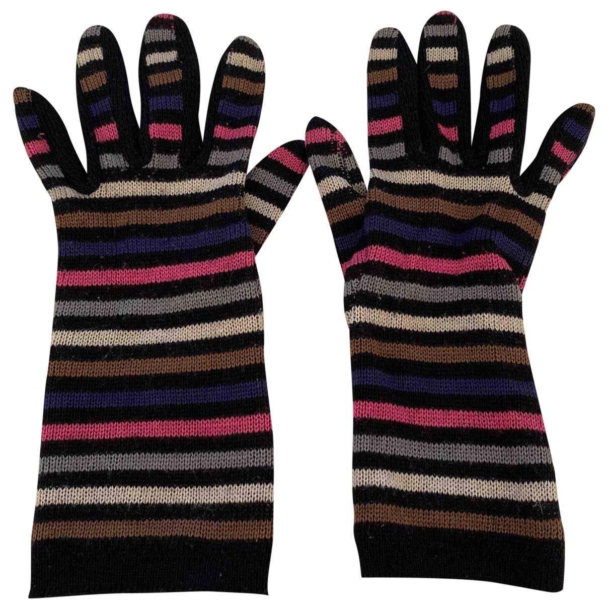 Sonia Rykiel \N Multicolour Wool Gloves for Women M International