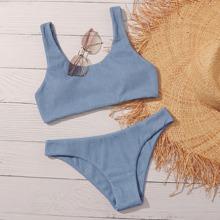 Bañador bikini de canale unicolor