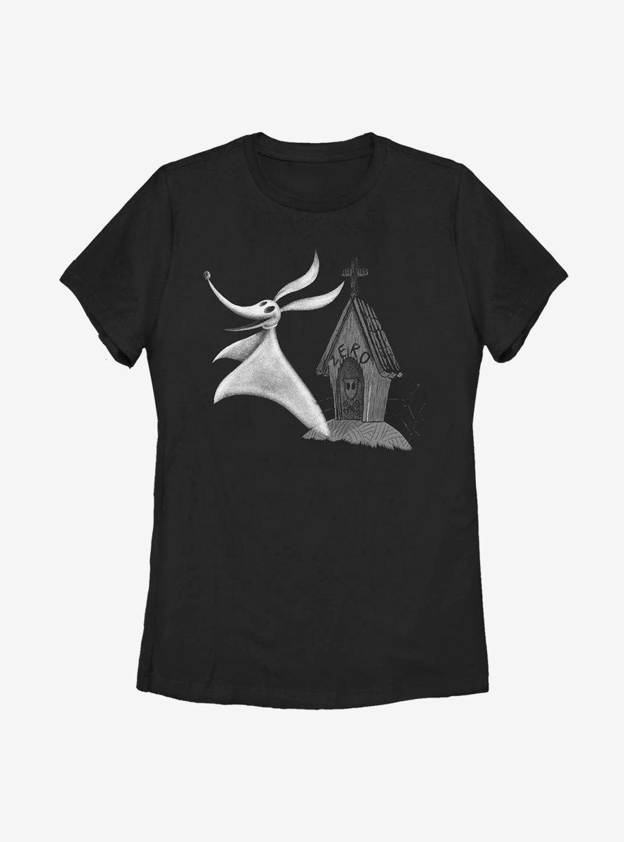 Disney The Nightmare Before Christmas Zero Womens T-Shirt