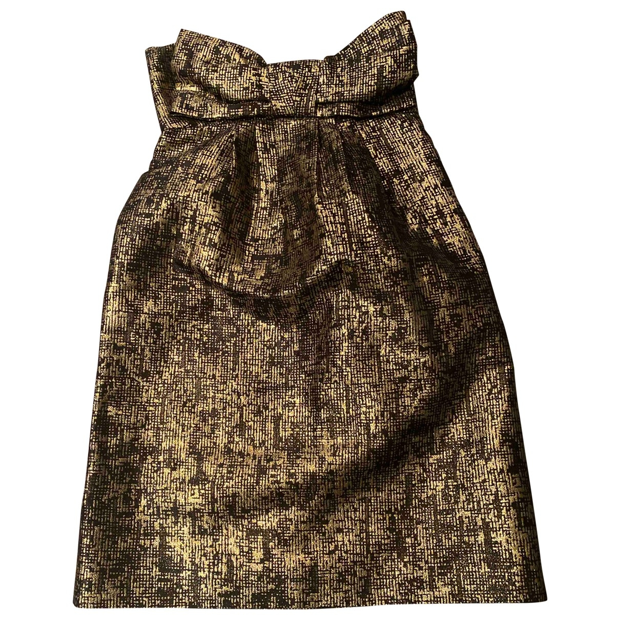 Moschino Cheap And Chic - Robe   pour femme - dore