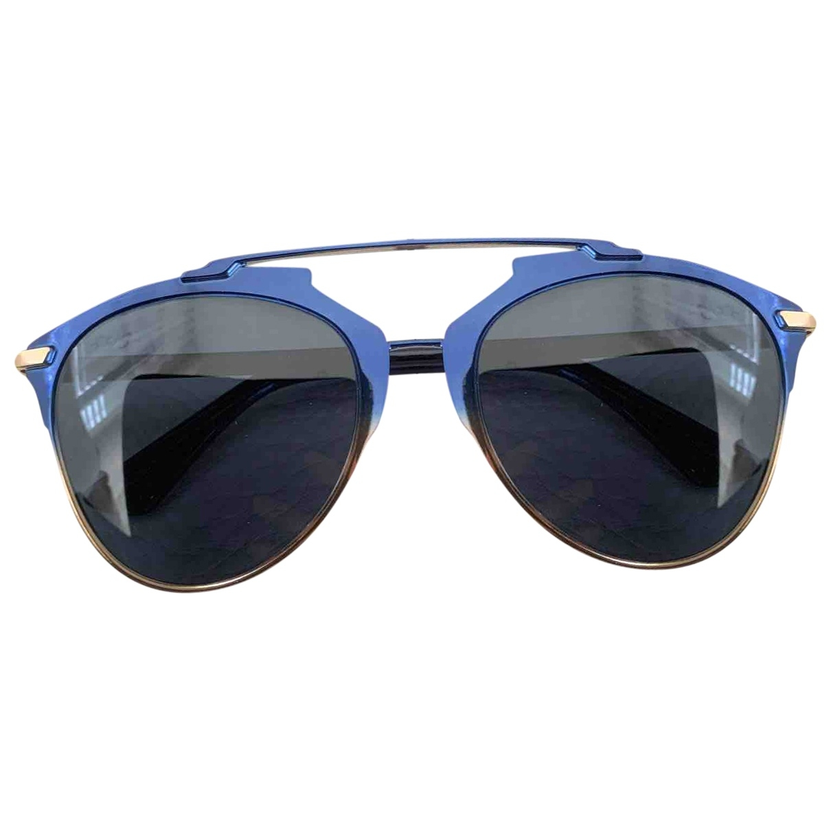 Dior Reflected Blue Metal Sunglasses for Women \N