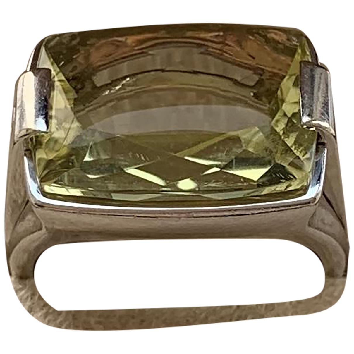 Bvlgari Allegra Ring in  Silber Weissgold