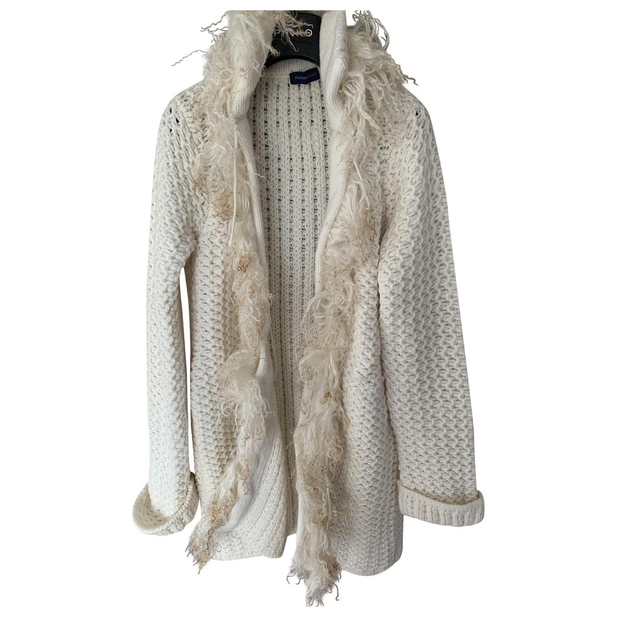 Trussardi Jeans \N White Wool Knitwear for Women S International