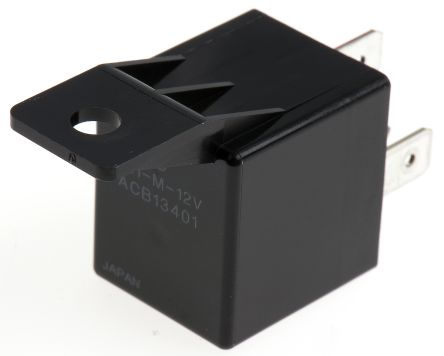 Panasonic , 12V dc Coil Automotive Relay SPDT, 40A Switching Current Flange Mount
