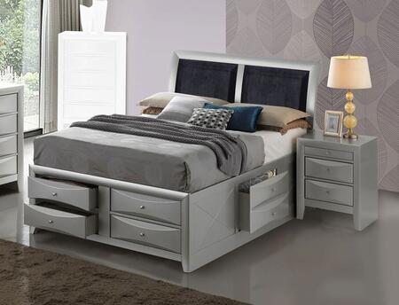 G1503I-KSB4N 2-Piece Bedroom Set with King Size Storage Bed + Single