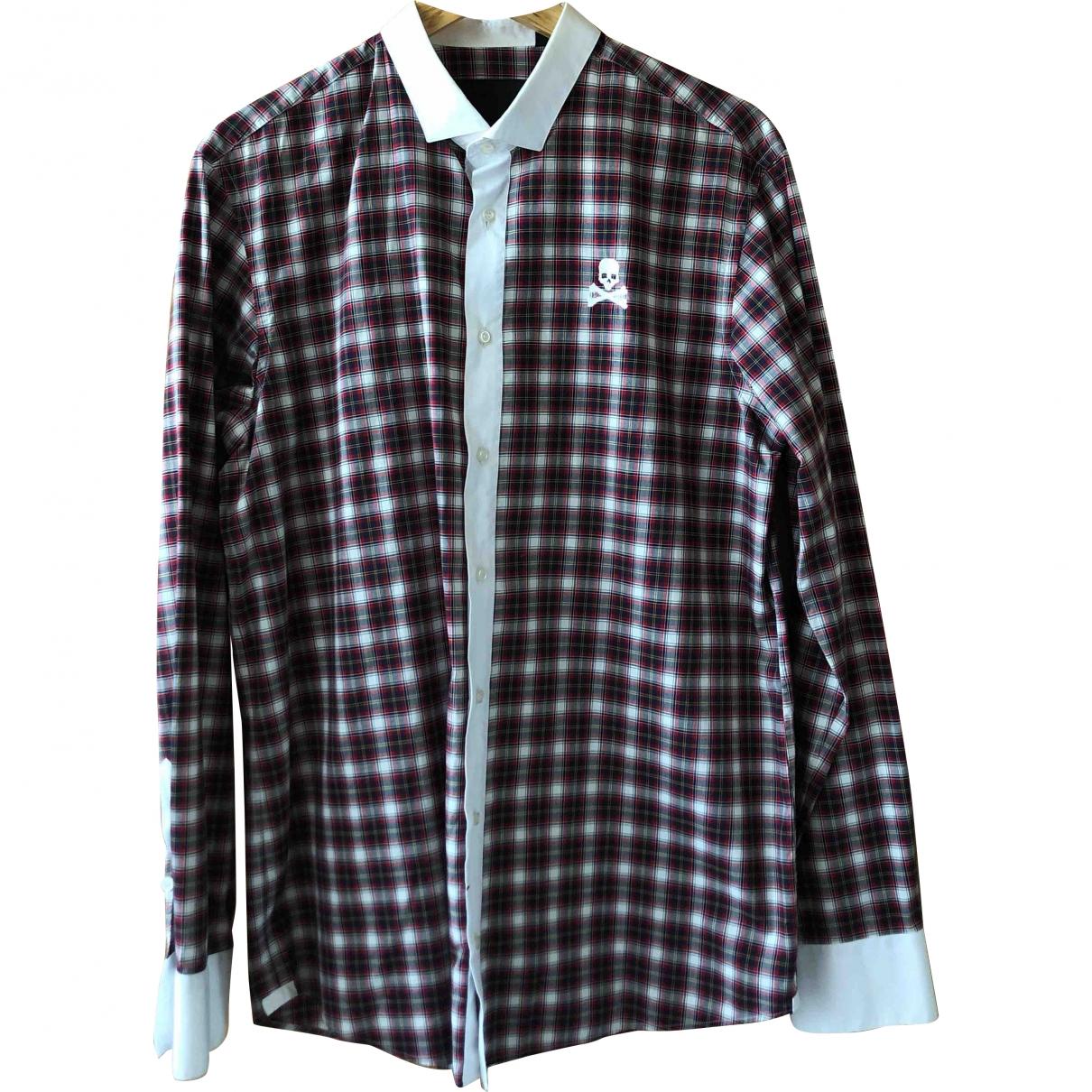 Philipp Plein - Chemises   pour homme en coton - multicolore