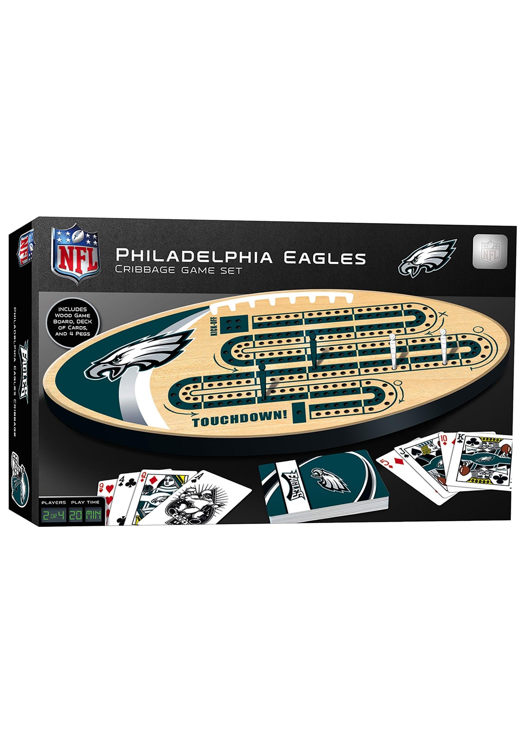 Philadelphia Eagles NFL Cribbage Set