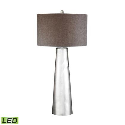 D2779-LED Tapered Cylinder Mercury Glass LED Table Lamp  In