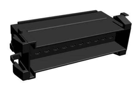 TE Connectivity , Junior Power Timer Automotive Connector Socket 2 Row 22 Way, Black
