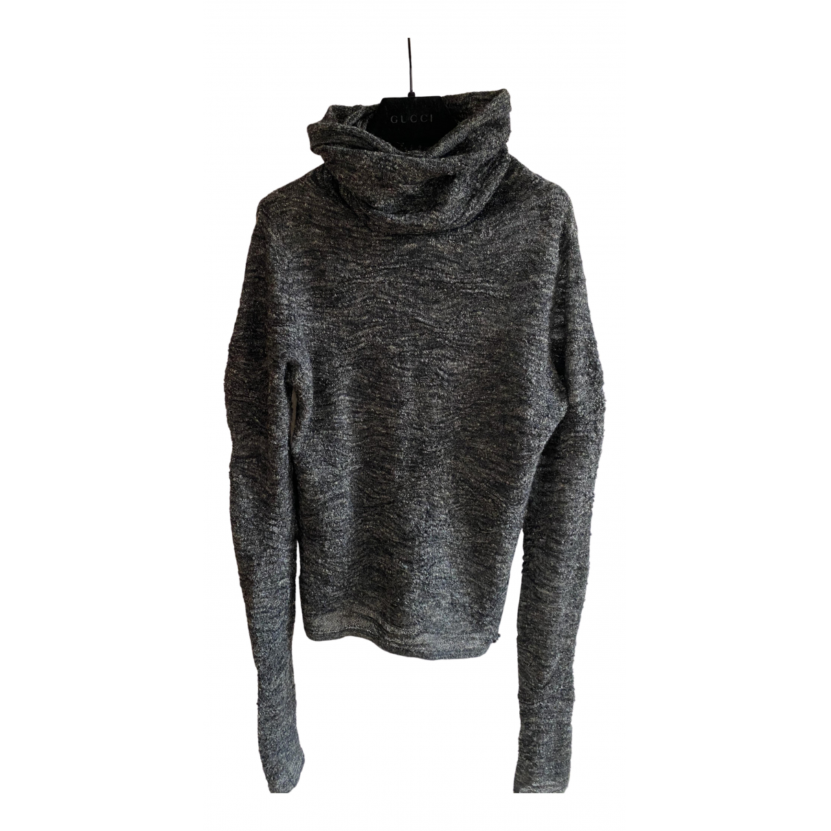 Chanel \N Pullover in  Grau Wolle