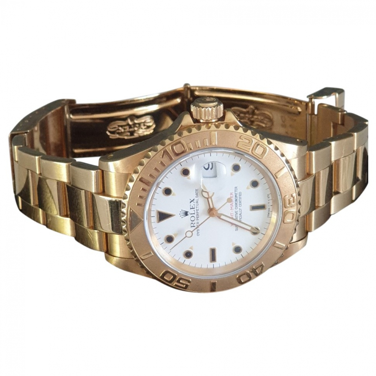 Rolex Yacht-Master Gold Yellow gold watch for Men \N