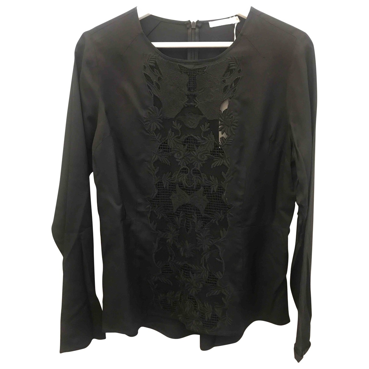 Non Signé / Unsigned \N Black  top for Women 38 FR