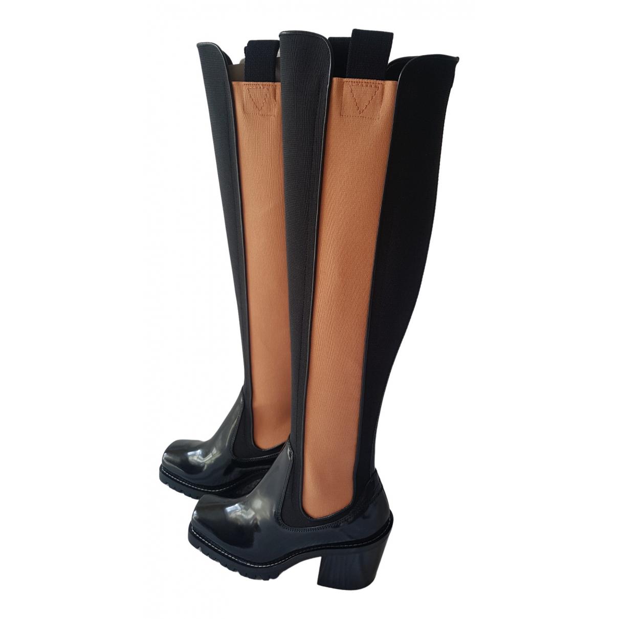 Louis Vuitton Limitless Stiefel in  Schwarz Leder