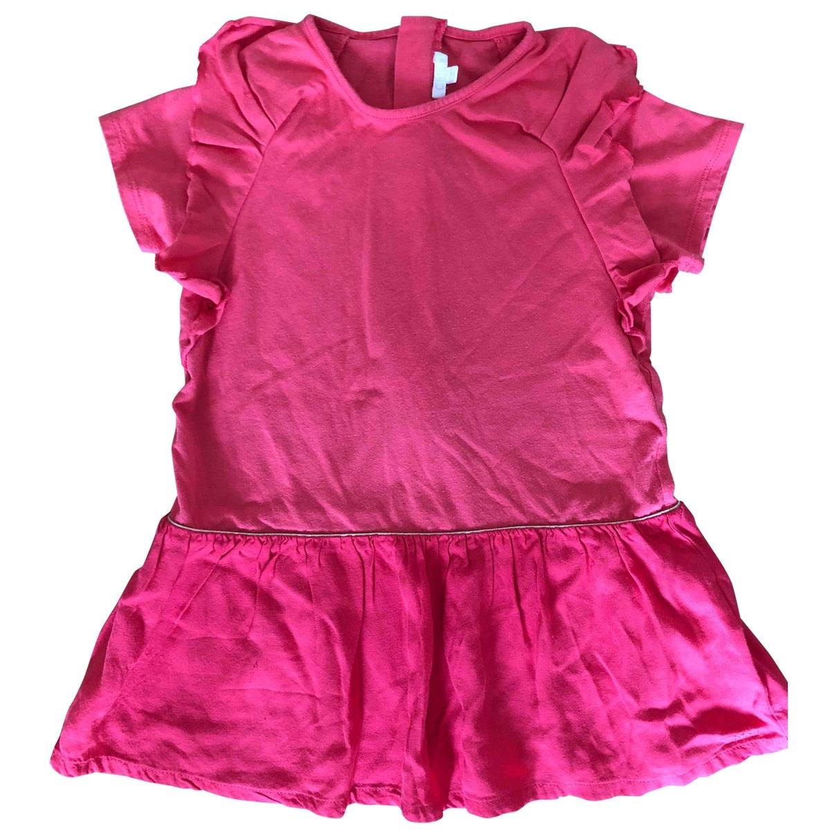 Chloe \N Kleid in  Rot Baumwolle