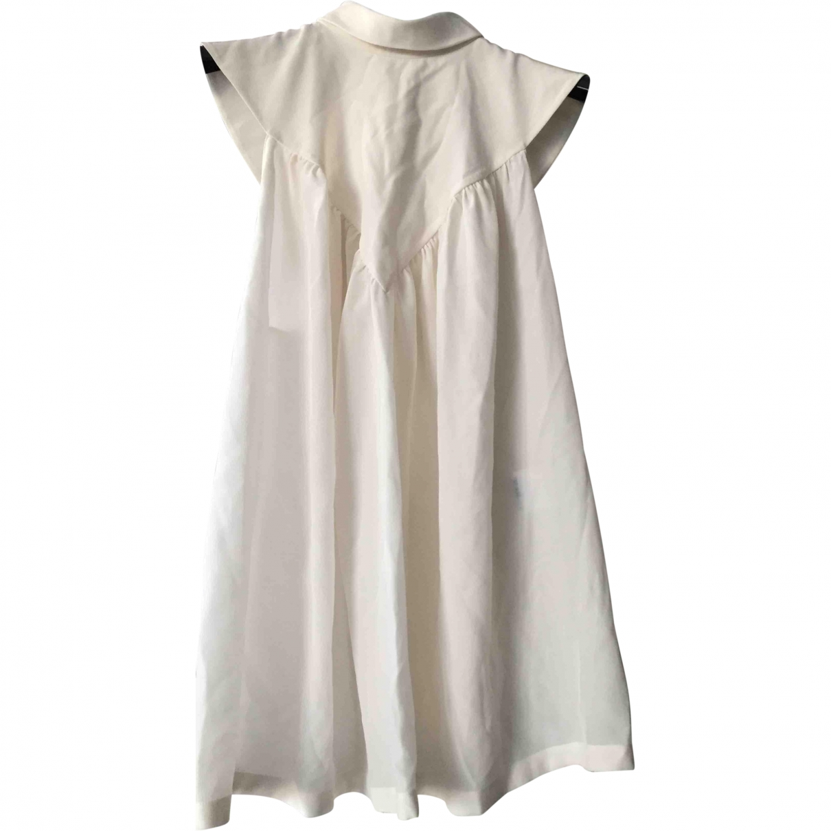 Givenchy \N White Silk  top for Women 40 FR