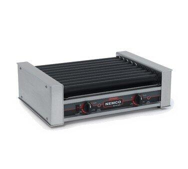 8018SX-230 Hot Dog Roller Grill with GripsIt Non-Stick Coating - 18 Hot Dog Capacity (230V)  in