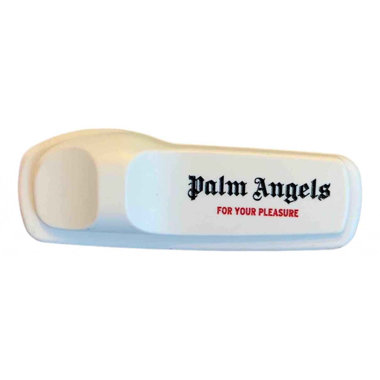 Palm Angels \N Brosche in  Grau Kunststoff