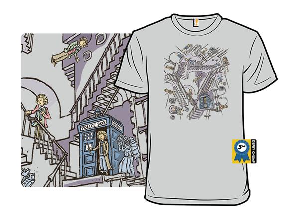 Escher Who T Shirt